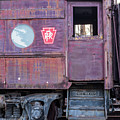 Watch Your Step Vintage Railroad Car by Terry DeLuco