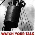 Watch Your Talk For His Sake  by War Is Hell Store