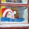 Watching For Santa by Cathy Jourdan