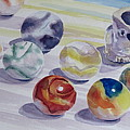Watching Over My Marbles by Karen Boudreaux