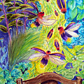 Watching The Bug Byway By Way Of Back Porch by Kathy Sturr