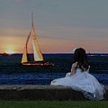 Watching The Sunset by Janet Argenta
