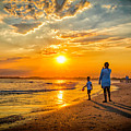Watching The Sunset by Nick Zelinsky