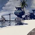 Watchtower Beach by Cynthia Decker