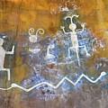 Watchtower Rock Art  by Julie Niemela