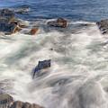 Water And Rocks by Raymond Salani III