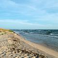 Water And The Beach by Linda Kerkau