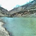 Water Body In The Himalayas by Ashish Agarwal