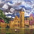 Water Castle Mespelbrunn by The GYPSY