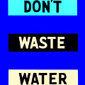 Water Conservation Fap Poster by Science Source