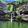 Water Fall by Rajesh Desai