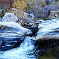 Water Flowing Through Rock Formation In Sabino Canyon II by Rincon Road Photography By Ben Petersen