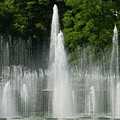Water Fountain Show - Longwood Gardens In Pa by Emmy Vickers