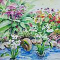 Water Garden by Ingrid Dohm