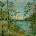 Water In Springtime by Robin Miller-Bookhout