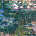 Water Lilies 1917 4 by Claude Monet