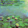 Water Lilies 1917 6 by Claude Monet