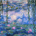 Water Lilies 1919 1 by Claude Monet
