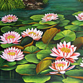 Water Lilies by Dominica Alcantara