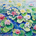 Water Lilies by Ingrid Dohm