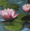 Water Lilies by Irina Fanning