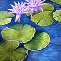 Water Lilies by Mary Deal