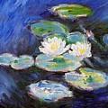 Water Lilies by Peter Kupcik