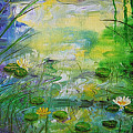 Water Lily Pond 1 by Barbara Harper