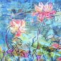 Water Lotus by Judith Ghetti Ommen