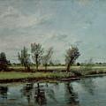 Water Meadows Near Salisbury by John Constable
