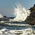 Water Meets Rock by John Trax