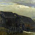 Water Mill At Opwetten Vincent Van Gogh by Eloisa Mannion