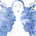Water Nymph Lxxx by Stevyn Llewellyn