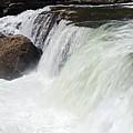 Water On The Rocks by Larry Ricker
