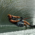 Water Skiing Magic Of Water 11 by Bob Christopher