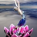 Water Sprite by Sandra Bauser Digital Art
