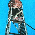 Water Tower by Glenda Zuckerman