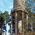Water Tower In Malmi Cemetery by Jarmo Honkanen