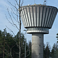 Water Tower Of Lohja  Station by Jarmo Honkanen