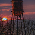 Water Tower Sunset by Bill Cannon