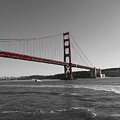 Water Underneath The Bridge-black And White by Douglas Barnard
