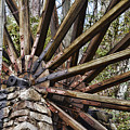 Water Wheel In The Fall by Ed Waldrop