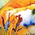 Watercolor .... Tulip Interiors by Jacqueline Schreiber