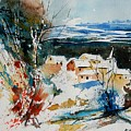 Watercolor  011040 by Pol Ledent