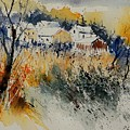 Watercolor  011071 by Pol Ledent