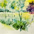 Watercolor 014052 by Pol Ledent