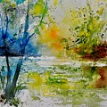 Watercolor 015003 by Pol Ledent