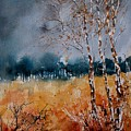 Watercolor  030308 by Pol Ledent