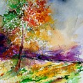 Watercolor  100507 by Pol Ledent