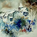 Watercolor  140408 by Pol Ledent